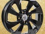 Диск RST 005 R15 BL черный